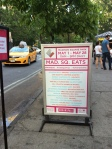 Madison Square Eats Welcome Sign
