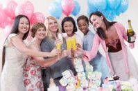 friends-having-toast-baby-shower-portrait-happy-multiethnic-30843402