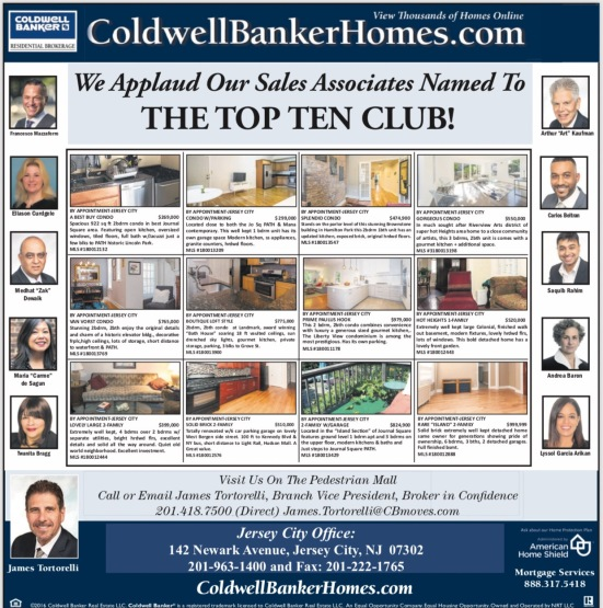 Coldwell Banker's Top 10