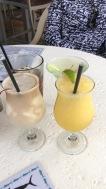 Drinking at U Tiki Beach Restaurant
